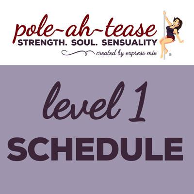 Level 1 Schedule
