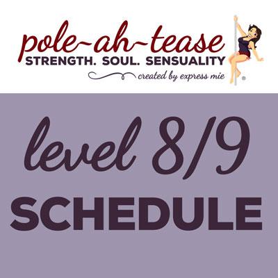Level 8/9 Schedule