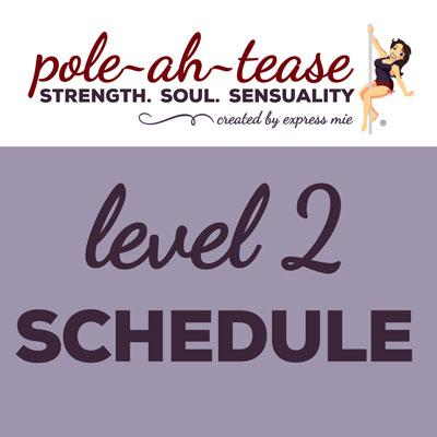 Level 2 Schedule